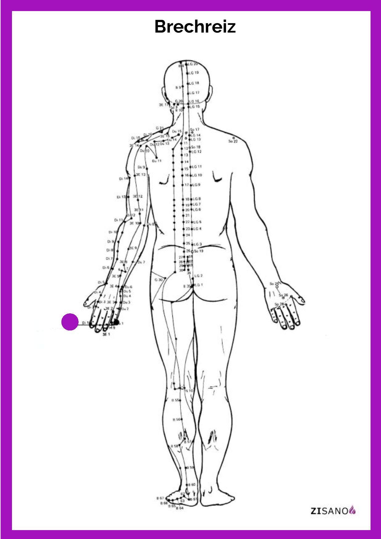Meridiane - Brechreiz - Behandlung