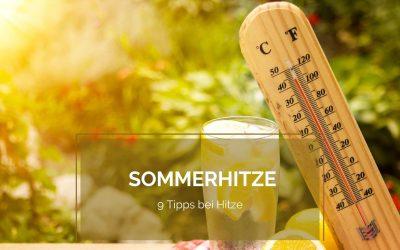 Was tun bei Sommerhitze